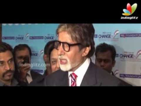 Big B at Yes Bank Film Making Award 2013 | Bollywood Event | Nehru Centre, Worli, Satyagraha