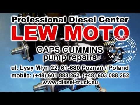 CAPS CUMMINS. Caterpillar. Delphi. Deutz. Stanadyne. Bosch. Yanmar pump repair (naprawa pomp)
