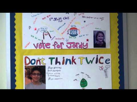 Charlotte Jewish Day School Student Council Elections - 12/05/2013
