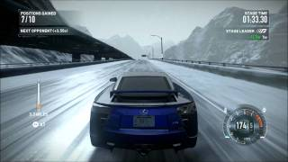 NFS The Run - Lexus LFA - Snow - i7 2600K - XFX HD 6870
