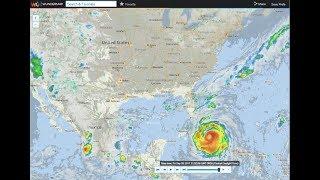 2017 Hurricane Irma Radar Time Lapse Wunderground