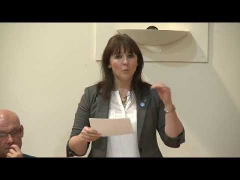 Shona McAlpine, Women for Independence at Yes Scotland meeting, Kilbirnie 24/10/13