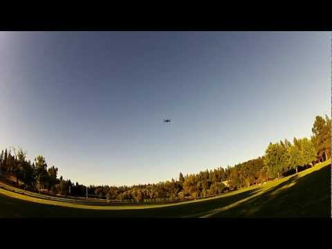 Hand throw MWC  250MM Siza Quadcopter
