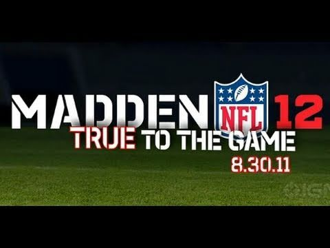 Madden NFL 12: Official Gameplay Trailer