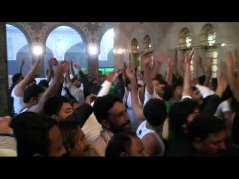 07-Jan-2012 Memorable Matam by Chakwal party at roza of Bibi Syeda Zainab S.A.