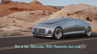 THIS IS THE MERCEDES F015-A FUTURISTIC CAR, BUT REAL-TECHNOLOGY 2018