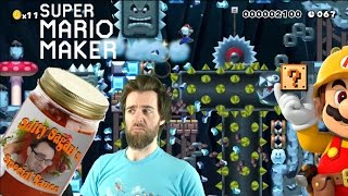 A Taste Of Sagan's Special Sauce   NEW Kaizo College Levels! [SUPER MARIO MAKER]