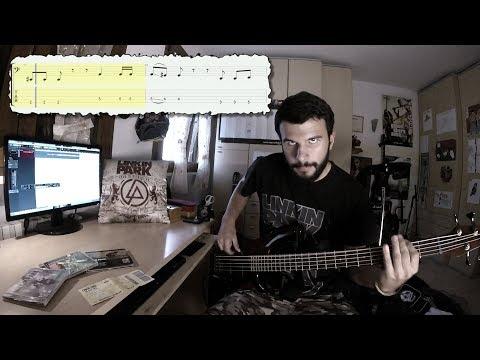 Linkin Park - Papercut 4 string