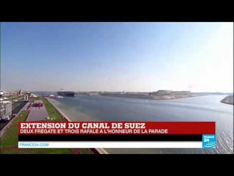 6335 politics Welt France 24 Egypte   l'extension du canal de Suez, un pari réussi pour le président
