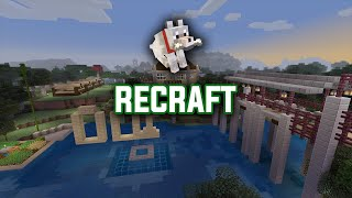 Minecraft Lets Play #27 Recraft! - Ps4 Live Stream!