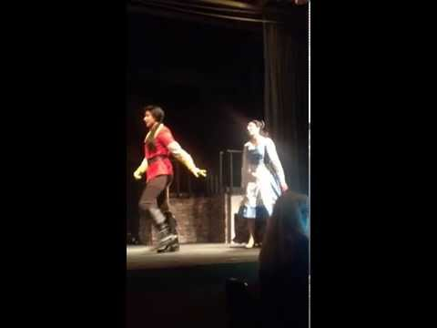 MHS Manteca High School performing Disney's Beauty and the Beast Musical Play 2014 - (FULL SONG)
