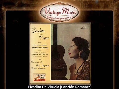 Conchita Piquer -- Picadita De Viruela (Canción Romance) (VintageMusic.es)