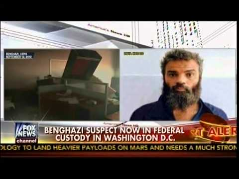 Benghazi Gate - Benghazi Suspect In Federal Custody In Washington D.C. - America's News HQ