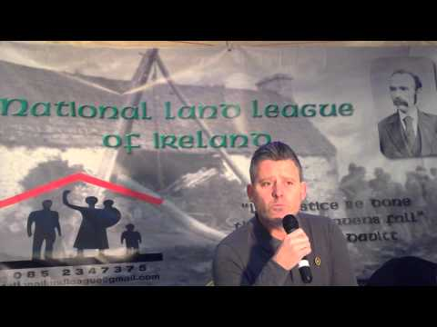 National Land League of Ireland issue statement to Ktech Security
