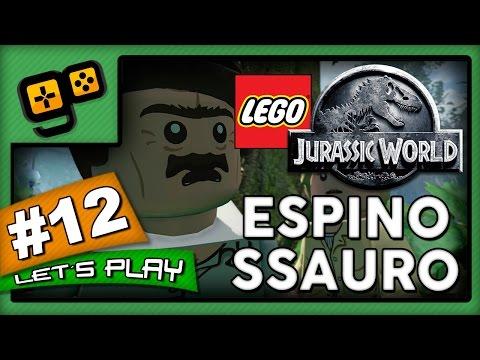 Let's Play: Lego Jurassic World - Parte 12 - Espinossauro