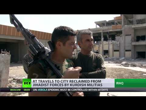 On the path of ISIS: RT reports from the frontline in Iraq
