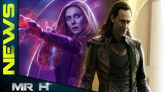 Loki & Scarlet Witch Getting TV Series On DISNEY Streaming Service