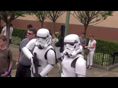 Star Wars Characters Greeting Guests at Disney's Hollywood Studios May The 4th Limited Time Magic