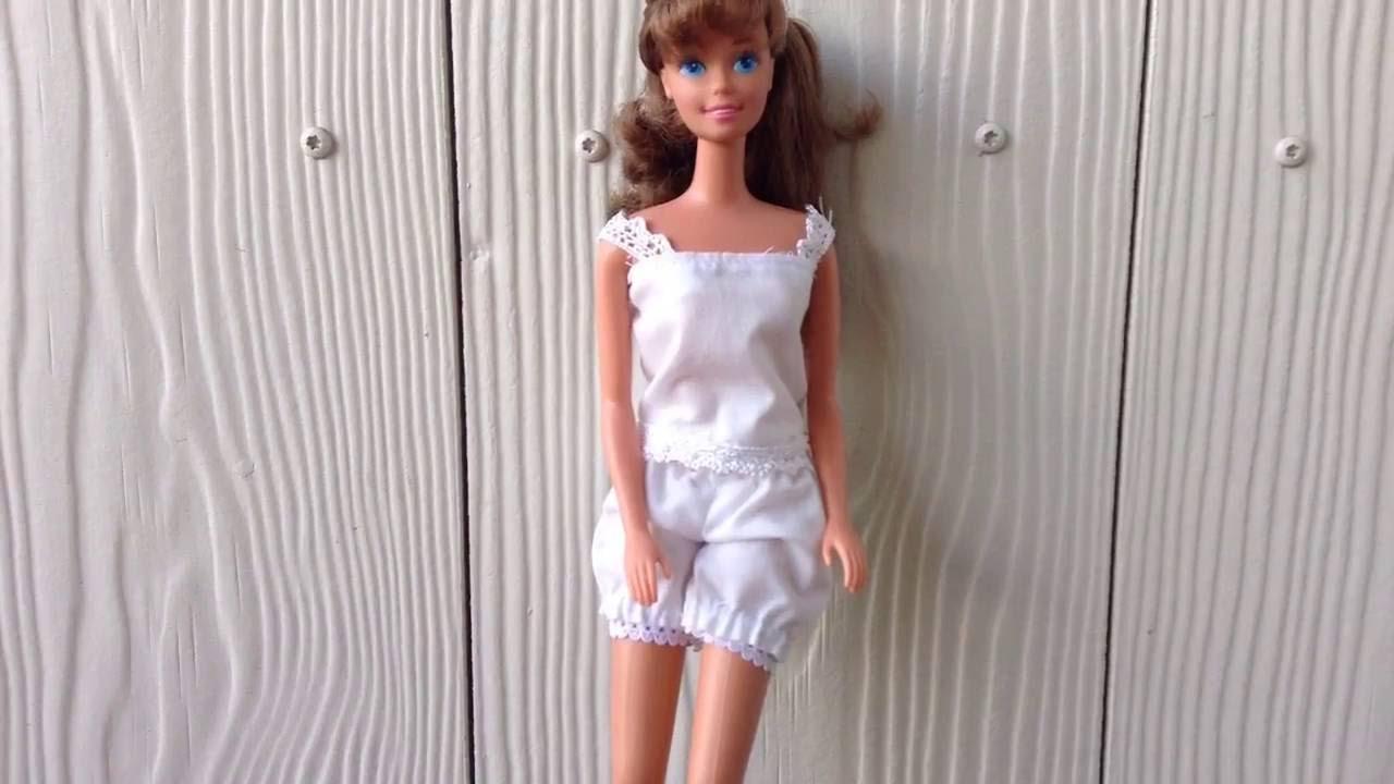 Романтичная пижама одежда для куклы своими руками КАРАКУЛИ