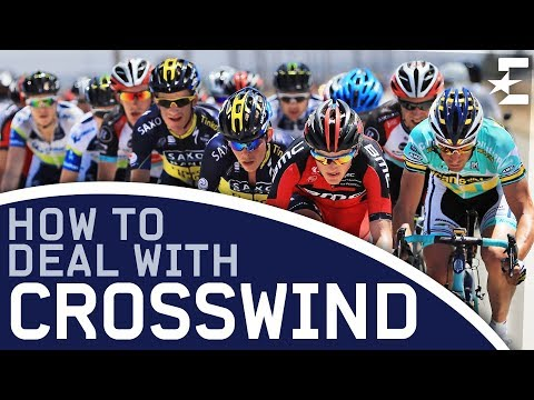 Science of Cycling – The Echelon: How To Deal With a Crosswind | Eurosport