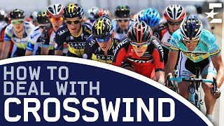 Science of Cycling – The Echelon: How To Deal With a Crosswind