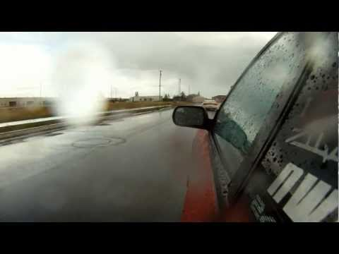 Rainy Sunday 240sx KA24DE Drift