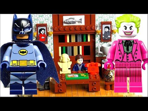 LEGO DC Super Heroes Обзор Лего Логово Бэтмена 76052. Лучший набор Лего Супер Герои Batman