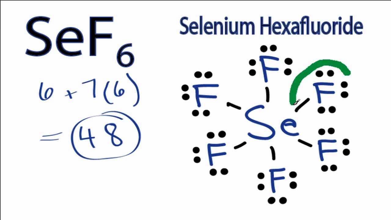 SeF6 Lewis Structure: How to Draw the Lewis Structure for ... H2co Lewis Structure