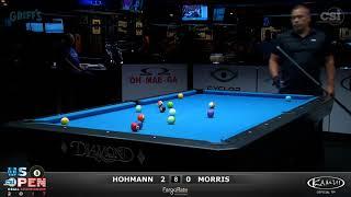 2017 US Open 8-Ball: Hohmann vs Morris