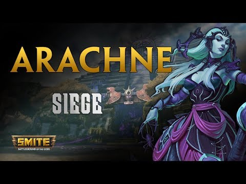 SMITE! Arachne, Despues de buff... sigue igual :D! Siege #157