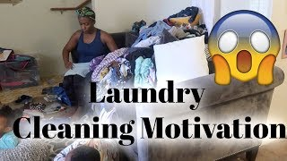 Do Laundry With Me/ Cleaning Motivation