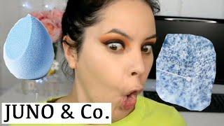 Una Esponja De Pelos Y Mejor Que La Beautyblender!? JUNO & Co | Angela Garza