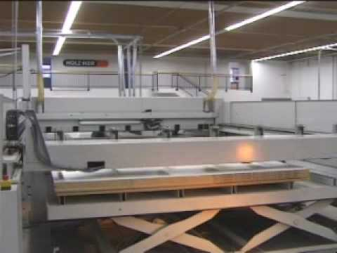 Holz-Her CUT 85 nyomógerendás lapszabász formatizáló gép