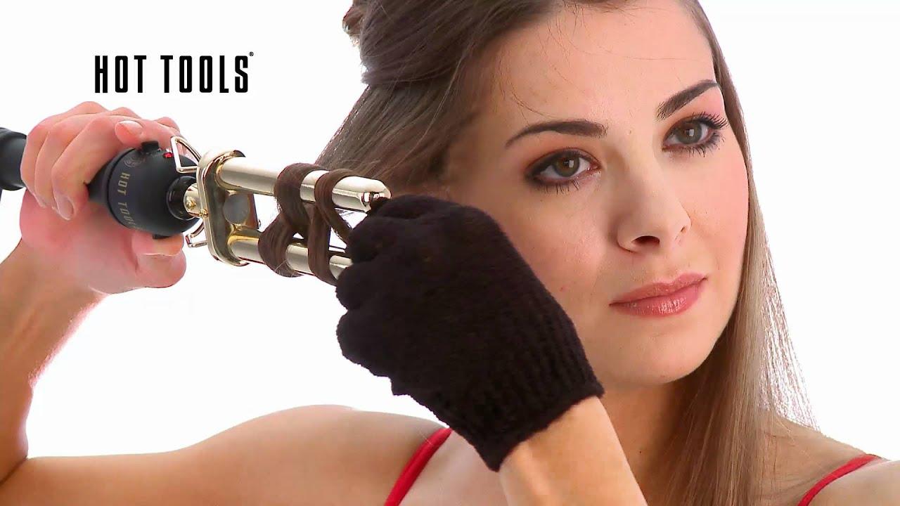 Hot Tools 2 Barrel Curler Youtube