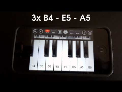 Still D.R.E. - Dr. Dre ft. Snoop Dogg - iPhone/iPod Touch Piano Tutorial