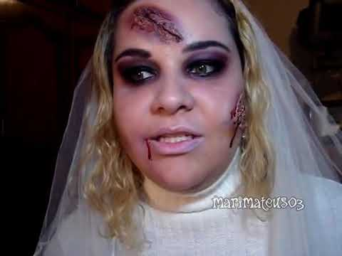 Makeup Tutorial - Halloween - Noiva Zumbi