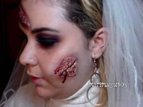 Makeup Tutorial - Halloween - Noiva Zumbi