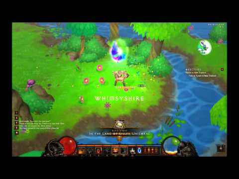 Diablo 3 - Unicorn level (Whimsyshire) and How