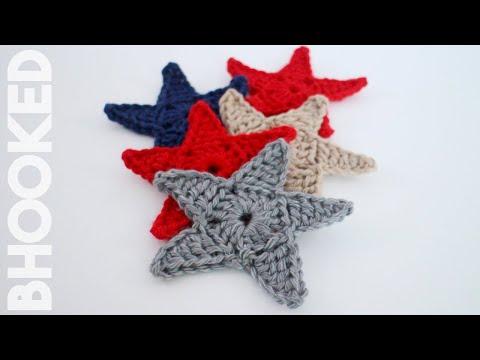 háčkované hviezdičky