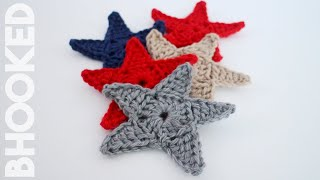 Crochet Star Applique