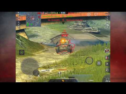 World of Tanks Blitz - Pz. V/IV game walkthrough