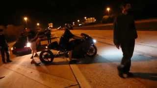 $$$ STREET RACE 8 second DSM (auto) vs. TURBO BUSA (300+whp)