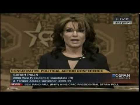 Gov. Sarah Palin s FULL CPAC 2014 speech