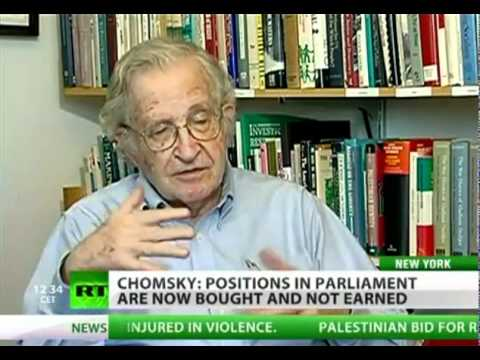 Noam Chomsky on Occupy Wall Street protests