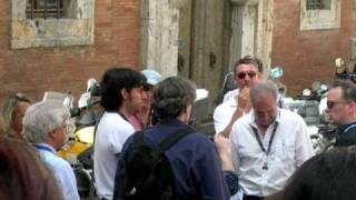 Chris Weitz In Montepulciano For New Moon Meeting