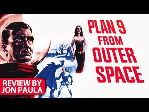 Plan 9 From Outer Space -- Movie Review #JPMN