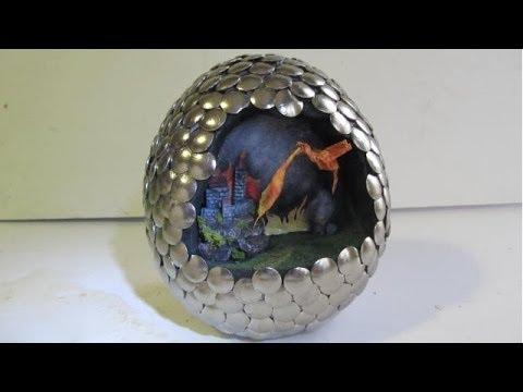 Make a Dragon Egg Diorama