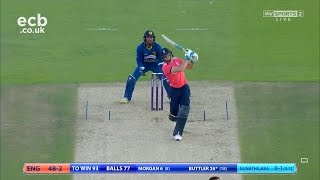 Jos Buttler hits 73 not out - England beat Sri Lanka by 8 wickets
