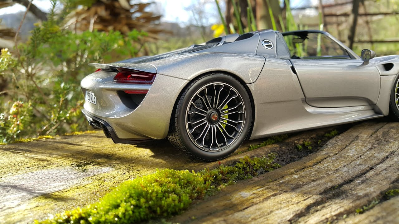 porsche 918 spyder 1 18 minichamps 4k youtube. Black Bedroom Furniture Sets. Home Design Ideas
