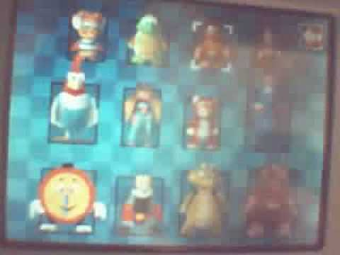 Diddy Kong Racing Characters Diddy Kong Racing Ds)-all